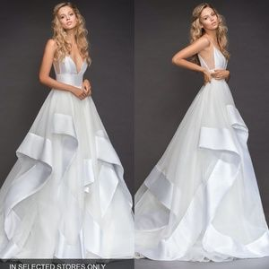 Hayley Paige Andi Sweetheart Mikado Tulle Gown 12